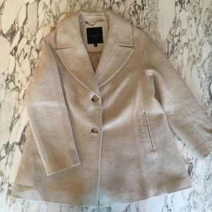 ❤️Pretty TALBOTS winter coat petite small!